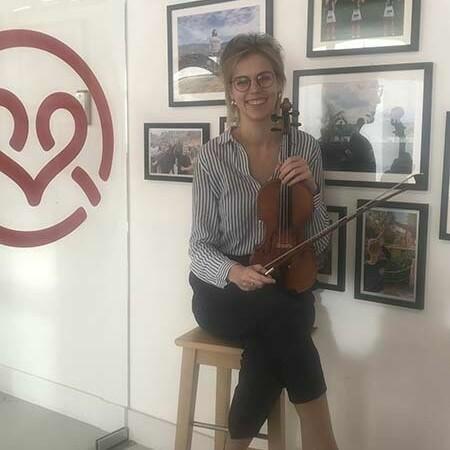 Alumnus Ciska Vandelanotte bereidt zich bij MaisonRouge voor op prestigieuze auditie in Parijs.