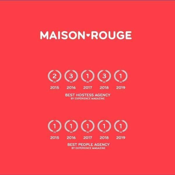 MaisonRouge Best Hostess Agency 2019-2020