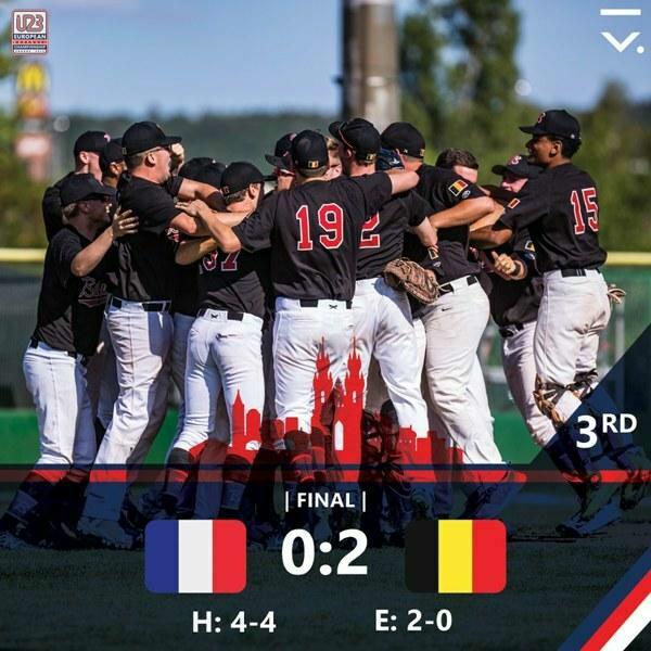 MaisonRougers halen brons op EK Baseball U23 in Praag